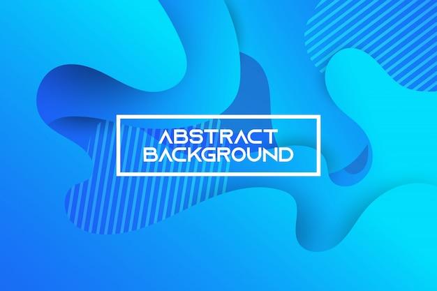 Blue gradient geometric background