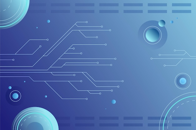 青のグラデーション技術の背景