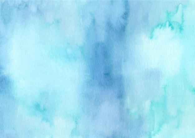 수채화와 블루 그린 추상 질감 배경