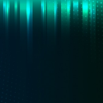 Blue and green patterned background vector
