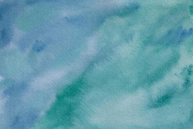 青緑水彩背景テクスチャ
