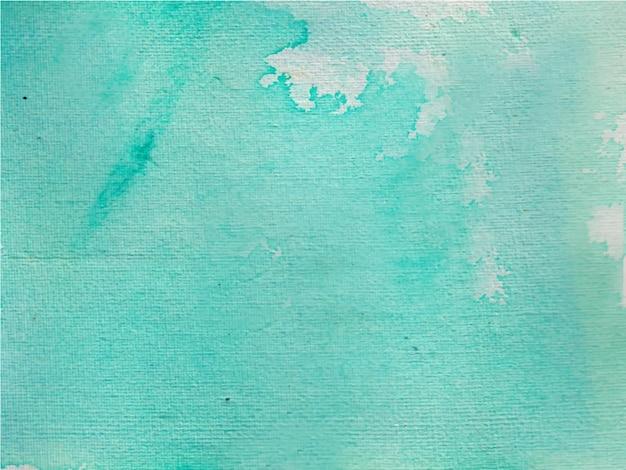 青い手描きの水彩テクスチャ抽象的な水彩背景。