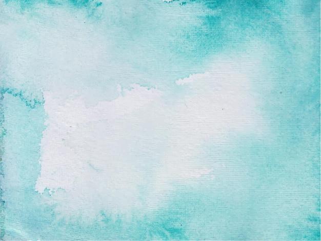 青い手描きの水彩テクスチャ