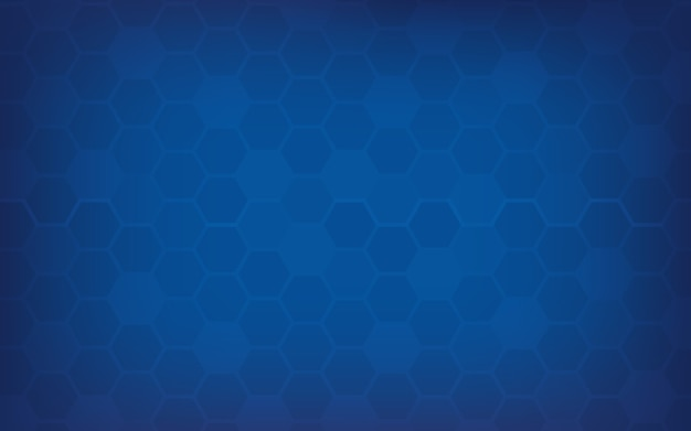 Blue honeycomb abstract background.