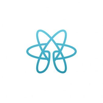 Blue isotype atomic raise up