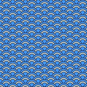 Blue japan pattern