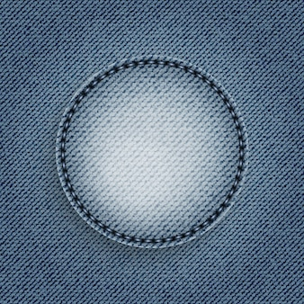 Blue jeans circle