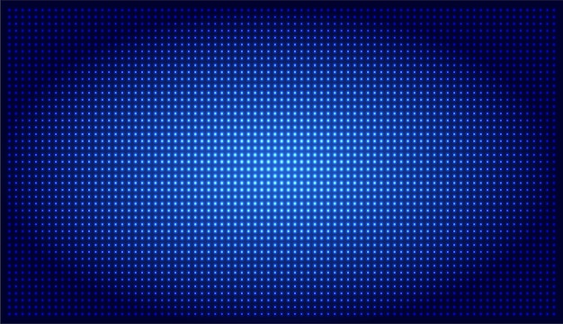 Blue led cinema screen