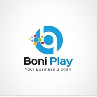 Логотип b письмо
