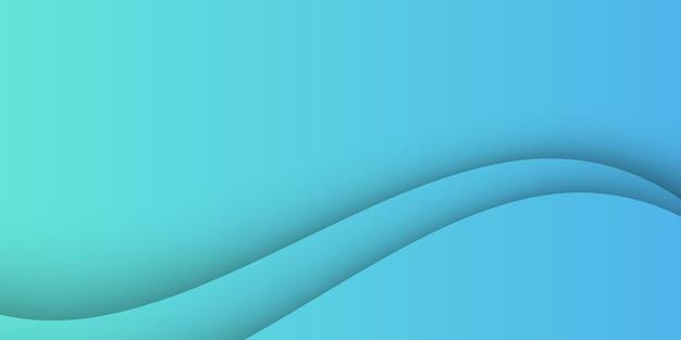 抽象的な波形の青い光の背景。