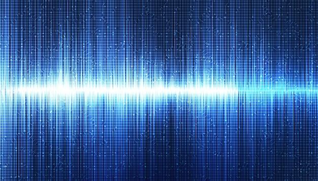 Blue light sound wave