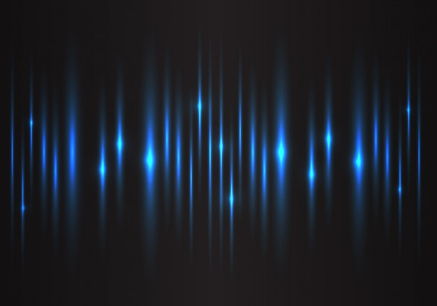 Blue light speed power technology energy background.