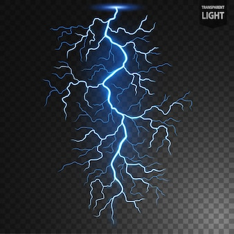 Blue lightning flash bolt вектор
