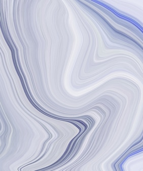 Blue liquid ink painting abstract pattern.