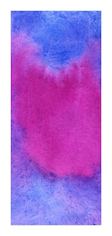 Blue and magenta rollup banner watercolor background