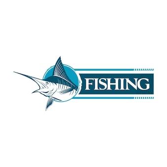 Голубая марлинская рыба