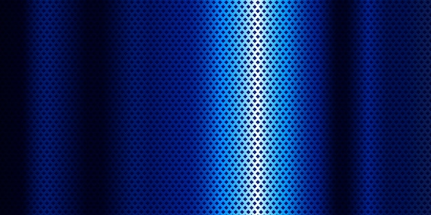 Blue metallic background with blue gradient