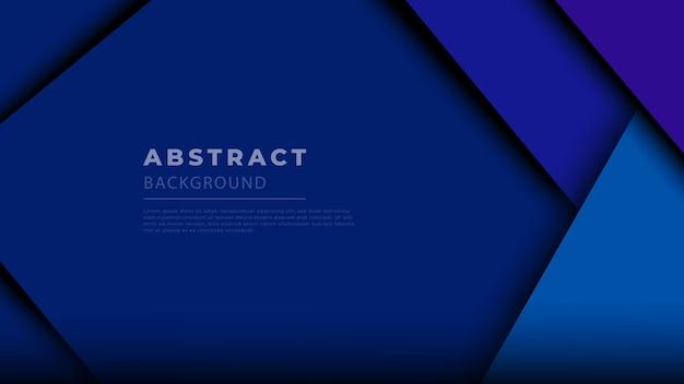 Синий современный геометрический абстрактный фон