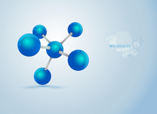 Blue molecules