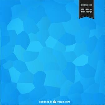 Sfondo blu mosaico progettazione