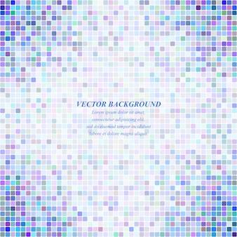 Sfondo blu vettoriale mosaico