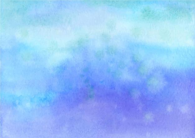 수채화와 블루 파스텔 추상 질감 배경
