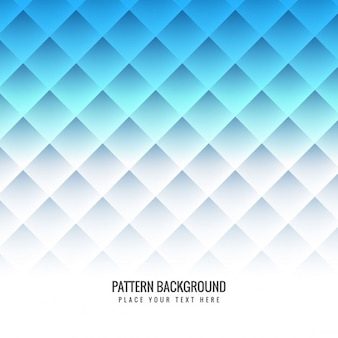 Blue pattern background with rhombus