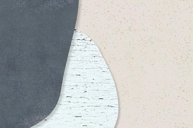 Blue pattern on beige background vector