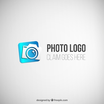 Blue photogfraphy logo