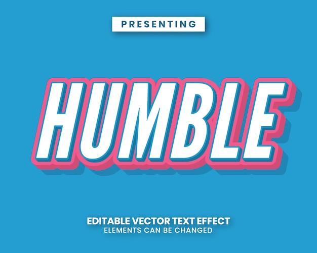 Blue and pink 3d sticker text effect