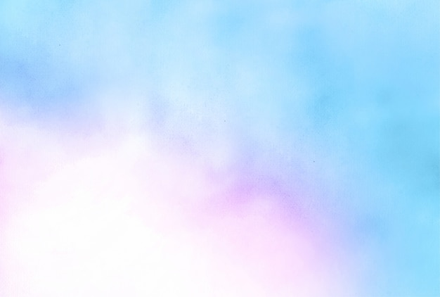 Blue and pink watercolor texture abstract background