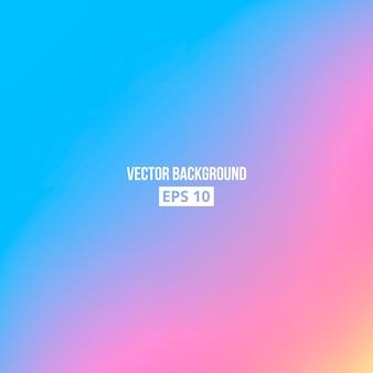 Blue, pink, yellow blur gradient.