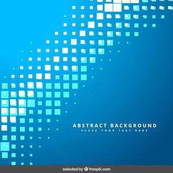Blue pixelated background