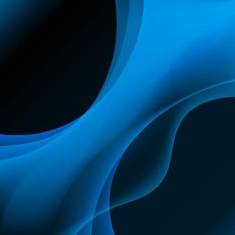 青いプラズマ抽象的な背景