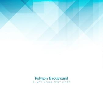 Colore azzurro forma poligonale di sfondo