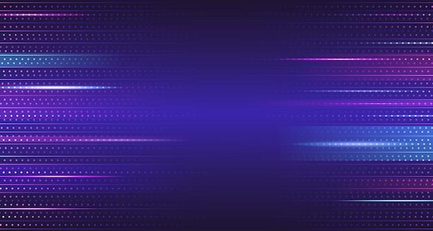 Blue purple gradient geometric abtract background