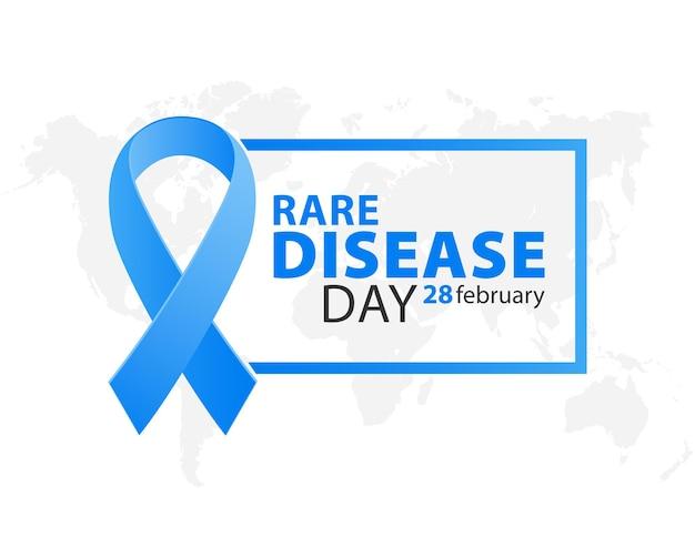 Голубая лента ко всемирному дню редких болезней