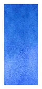 青いロールアップバナー水彩背景
