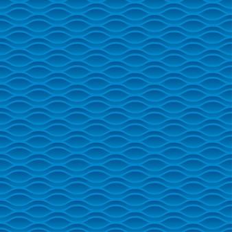 青い海の水抽象的な幾何学的なシームレスパターン。水の波の背景。図。デザインの要素。