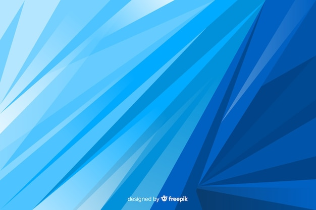 Blue shapes background abstract