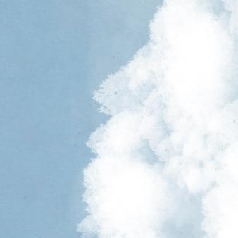 Фон голубого неба с облаками