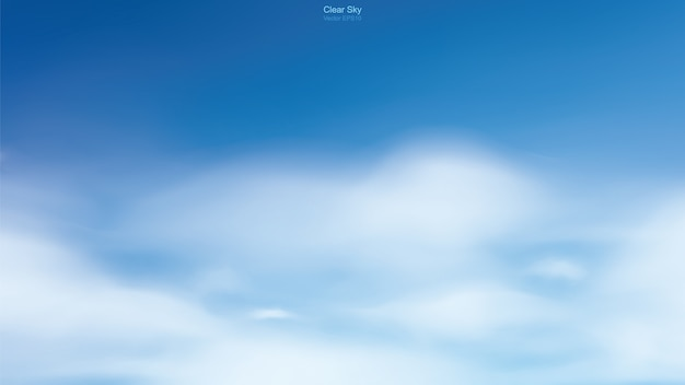흰 구름과 푸른 하늘 배경입니다. 자연 배경에 대 한 추상적 인 하늘입니다.