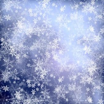 ブルー雪片の背景