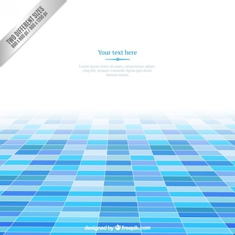 Blue squares background
