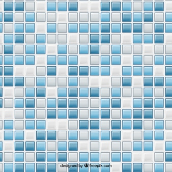 Синие квадраты плитки шаблон