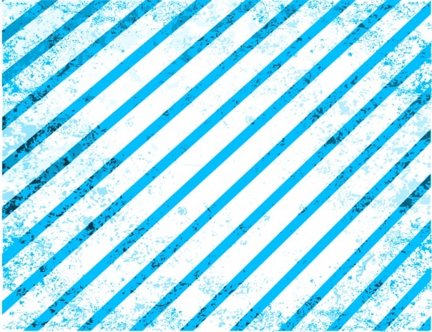 Blue stripes grunge vector background