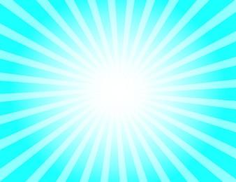 Blue sunbeam background