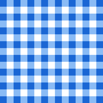 Blue tablecloth vector