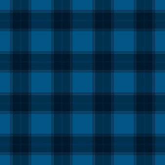 Blue tartan colourful textile seamless pattern