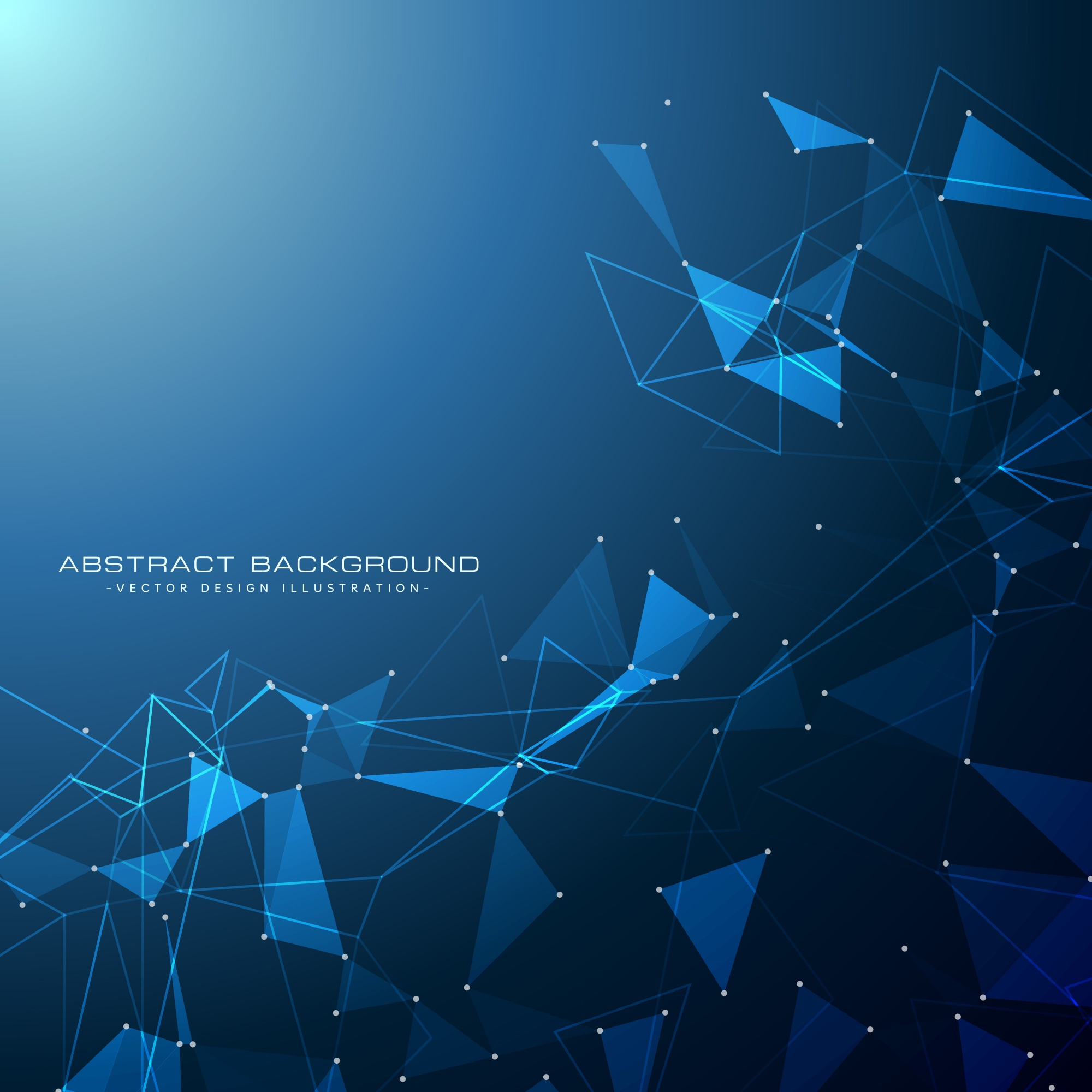Blue technology digital background
